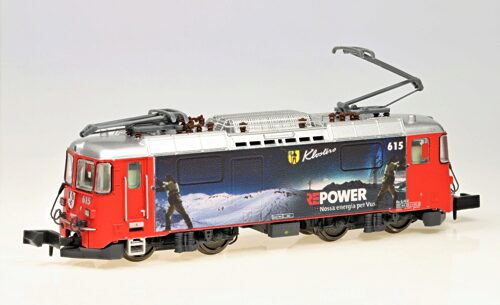 "MDS Modell 60008-D N-RhB-Elok Ge4/4II 615 ""Klosters"", ""RE-Power - Winter"", Digital"